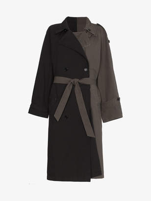 Vetements Bi-Colour Trench Coat