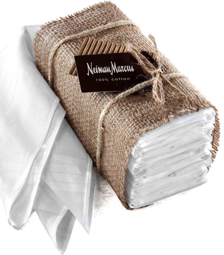 Neiman Marcus Handkerchiefs, Set of 10