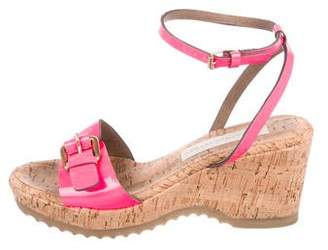 Stella McCartney Vegan Semi-Wedge Platform Sandals