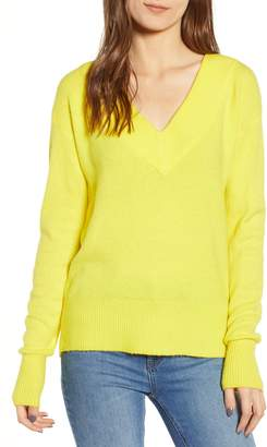 Leith Deep-V Pullover