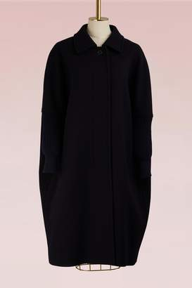 Jil Sander Doha Relaxed Wool Coat