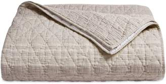 Hotel Collection Honeycomb Cotton-Linen Coverlet