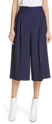 Polo Ralph Lauren Pinstripe Gaucho Pants