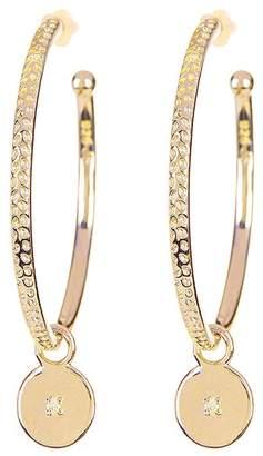 Savvy Cie Diamond Hoop Earrings - 0.02 ctw