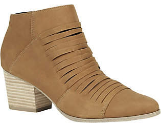 Sole Society Mid Heel Ankle Booties - Sparrow