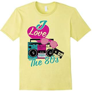 I Love Heart The 80s Flashback Pop Culture 1980s T-shirt