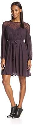 Love Sam Women's Lace Drape Dress $52.73 thestylecure.com
