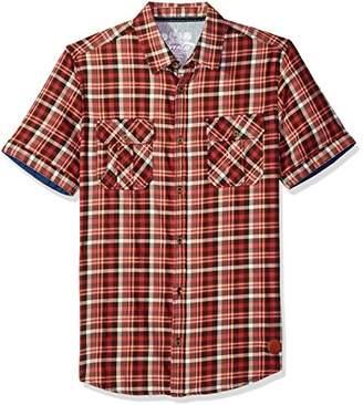 Buffalo David Bitton Men's Sijoulan Stretch Plaid Woven Shirt