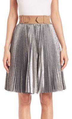 3.1 Phillip Lim Sunburst Accordion Pleated Skirt $650 thestylecure.com