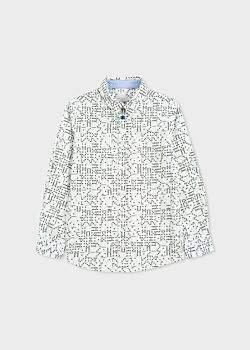 Paul Smith Boys' 8+ Years 'Domino' Print Shirt