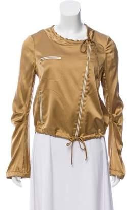 Diane von Furstenberg Casual Long-Sleeve Jacket