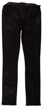 Helmut Lang Waxed Skinny Pants
