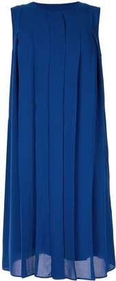 KNOTT pleated front dress