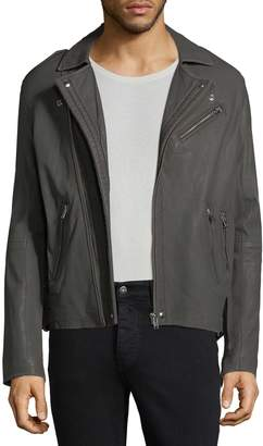 IRO Men's Aronel Leather Biker Jacket