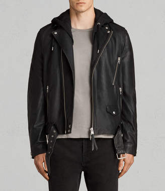 AllSaints Stens Leather Biker Jacket
