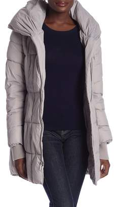 French Connection Asymmetrical Pillow Collar Jacket