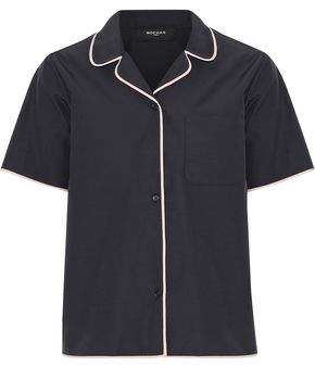 Rochas Mergi Cotton-Blend Faille Shirt