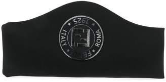 Fendi logo headband