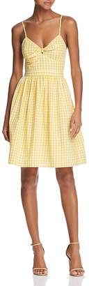 Endless Rose Gingham Fit-and-Flare Dress