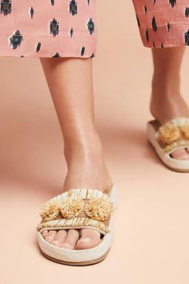 Soludos x Anthropologie Panarea Slide Sandals