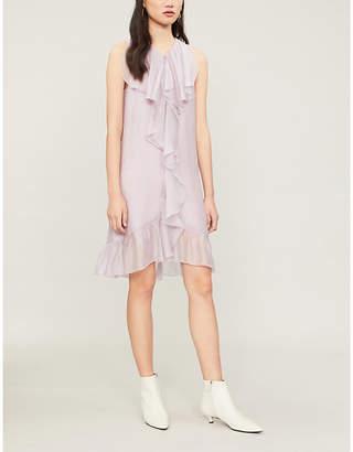 See by Chloe Flounce-panel organza mini dress