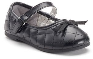 Jumping Beans® Toddler Girls' Quilted Mary Jane Shoes $35.99 thestylecure.com