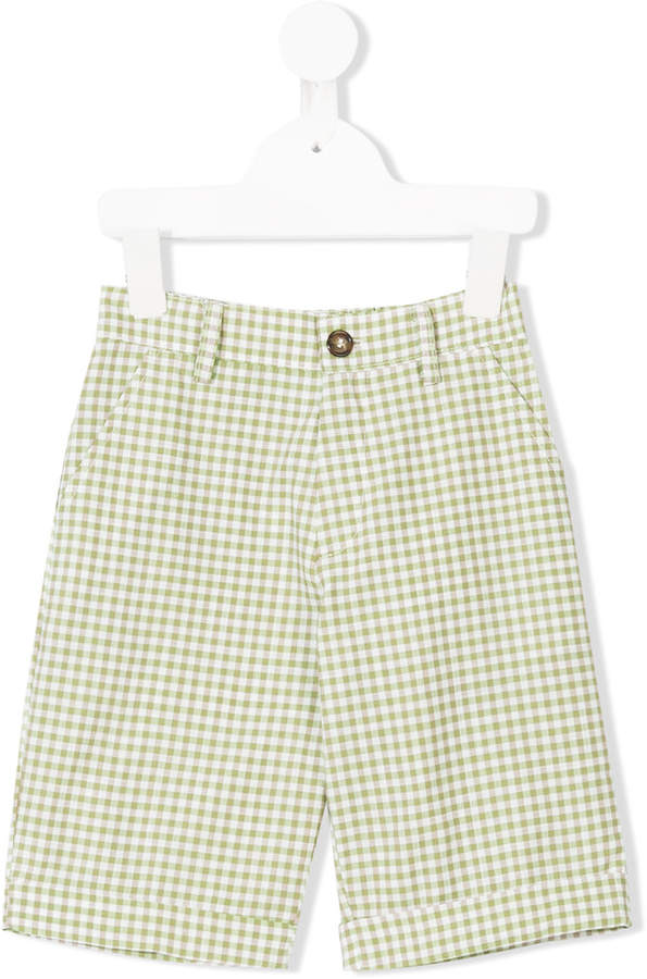 Siola gingham check shorts
