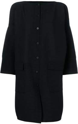 Issey Miyake pleated cardigan