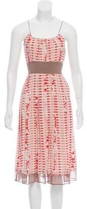 Vena Cava Silk Printed Dress