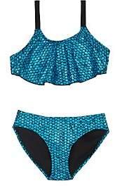 Hampton Mermaid Mermaid Two-Piece Swimsuit-Blue