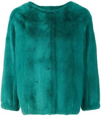 Liska fitted fur jacket