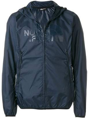 The North Face zipped windbreaker