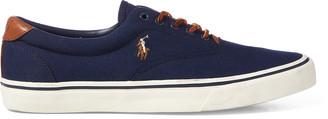 Ralph Lauren Thorton Canvas Low-Top Sneaker
