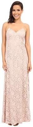 Donna Morgan Gia Spaghetti Strap Slip Dress Women's Dress