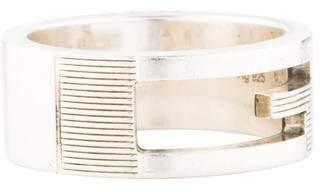 Gucci Cutout G Motif Ring