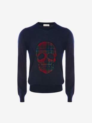 Alexander McQueen Skull Crew-Neck Sweater
