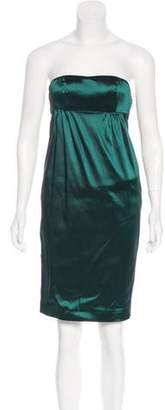 Nina Ricci Strapless Mini Dress