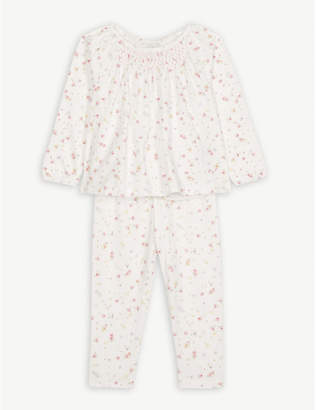 The Little White Company Annabel floral cotton pyjamas 7-12 years