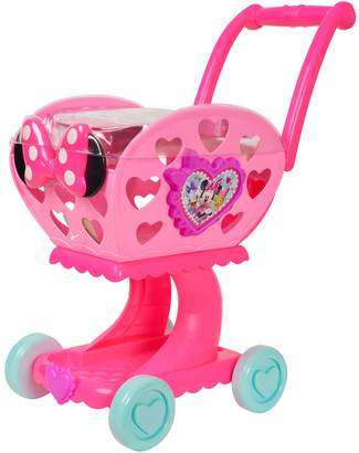 Disney Disney's Minnie Mouse Happy Helpers 2-in-1 Shopping Cart