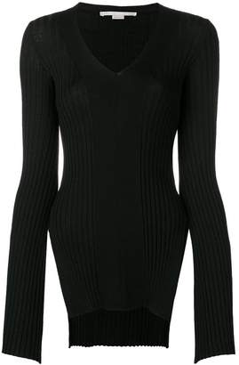 Stella McCartney ribbed fitted sweater