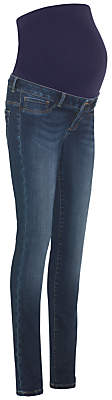 Séraphine Seraphine Penny Overbump Maternity Skinny Jeans, Blue Denim