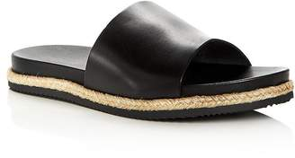 Bloomingdale's The Men's Store at Men's Leather Slide Sandals - 100% Exclusive
