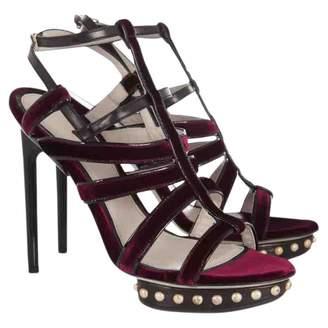 Jason Wu Velvet heels