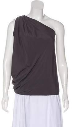 Ramy Brook Sleeveless Silk Top