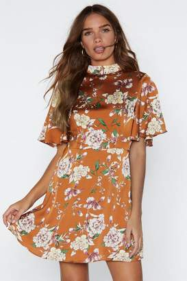 Nasty Gal Life Grows On Floral Dress