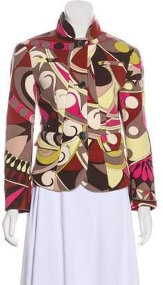 Emilio Pucci Structured Wool Jacket