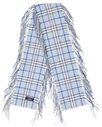 Burberry Nova Check Cashmere Happy Scarf