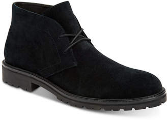 Calvin Klein Men Ultan Suede Chukka Boots Men Shoes