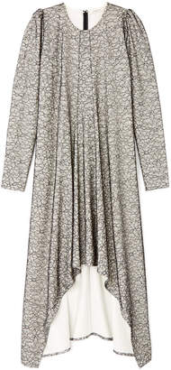 Hiraeth Estella Lace Overlay Midi Dress