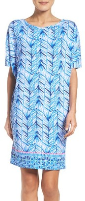 Women's Lilly Pulitzer Lowe T-Shirt Dress $178 thestylecure.com